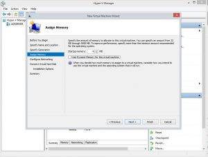Installing Windows Server 2016 in Hyper-V – ABLE Home & Office